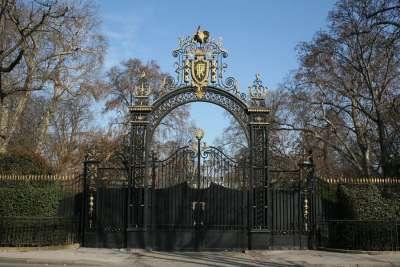 Ворота парадного въезда