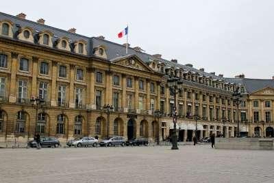 Министерство Юстиции Франции на Вандомской площади