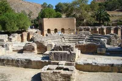 Первые поселения в Кноссе