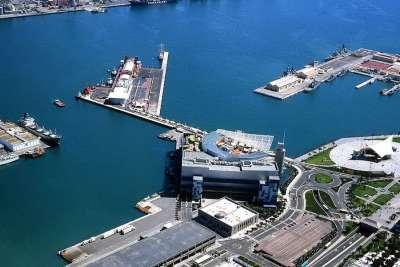 Порт острова