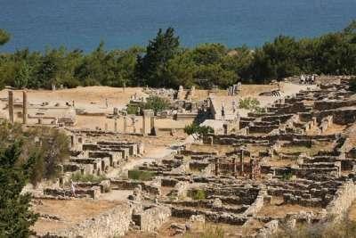 Раскопки Древнего Родоса