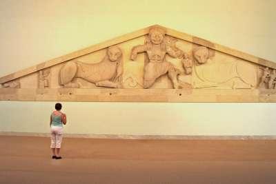 Экспонаты Архиологического музея