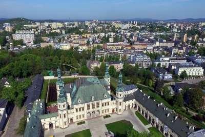 Город Кельце. Польша.