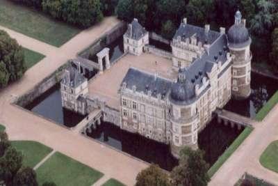 Замок Серран. Вид сверху
