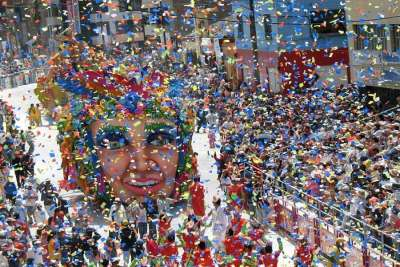 Карнавал в городе Кадис