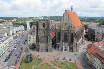 Ныса. Исторический центр и кафедральный собор.