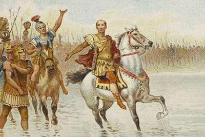 Участие Цезаря в походах и войнах