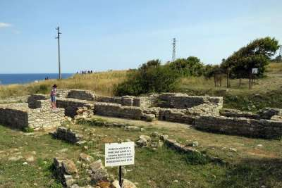 Археологическая зона на мысе