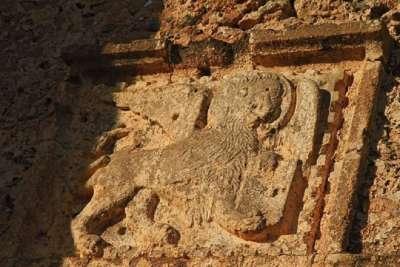 Барельеф льва Святого Марка