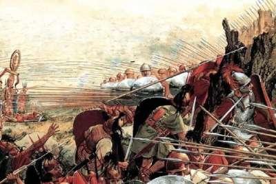 Иллюстрация войны с Римом