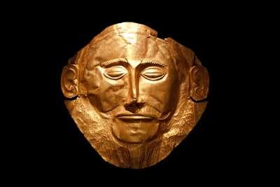Микенская маска Агамемнона