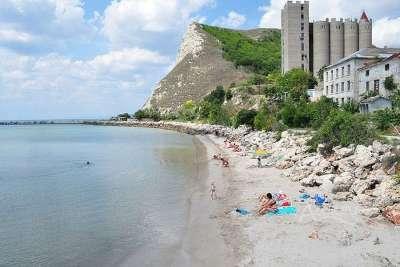 Пляж Каварны