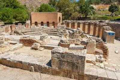 Римский Одеон в Гортине