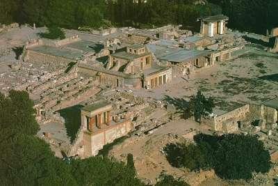 Руины Кносского Дворца