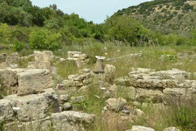 Руины города Элефтерна