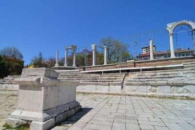 Стара Загора. Античный форум Августа Траяна