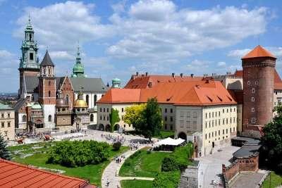 Старинные постройки Кракова