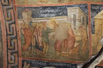 Фрески на стенах ивановских церквей