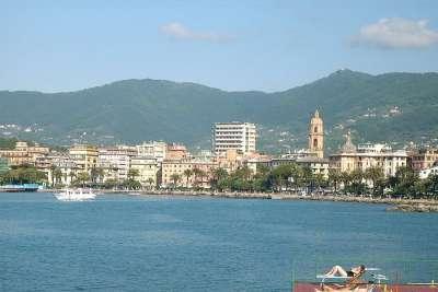 Достопримечательности города. Вид с моря