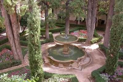 Миртовый дворик