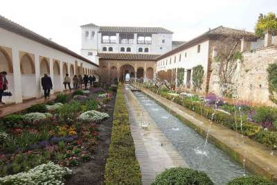 Фонтаны дворца