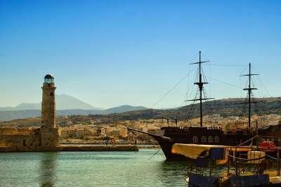 Венецианский порт Ретимно