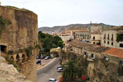 Вид на город с замка