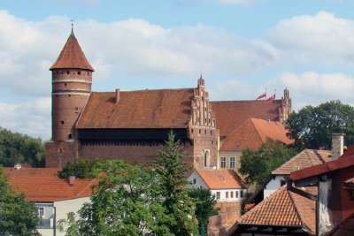 Замок в Ольштыне