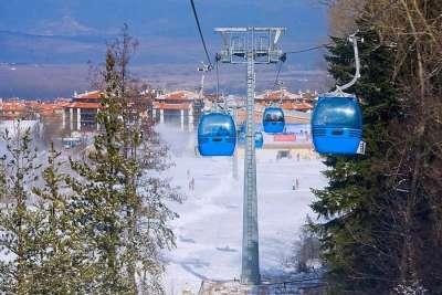 Зимний курорт Банско