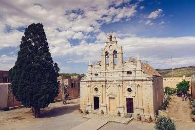 Монастырь Аркади венецианского периода