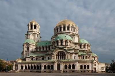 Собор Алексадра Невского в Софии. Болгария