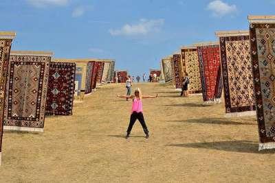 Фестиваль ковров в Чипровцах