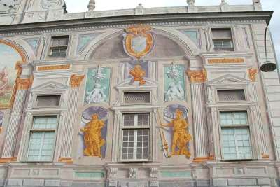 Фрагмент фасад