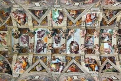 Фрески в Сикстинской капелле