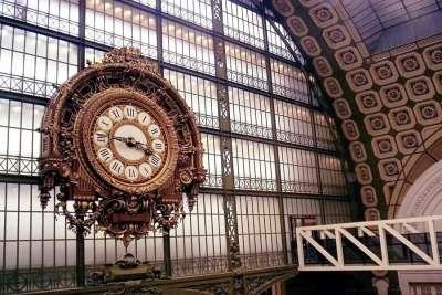 Вокзальные часы музея