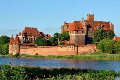 Крепость в Гневе. Панорама