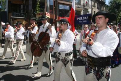 Международный фольклорный фестиваль в Закопане