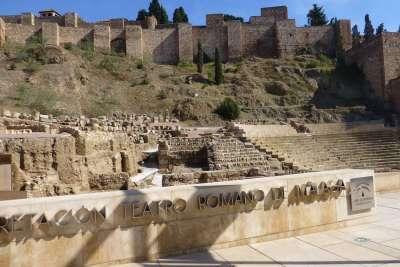 Остатки древнего театра