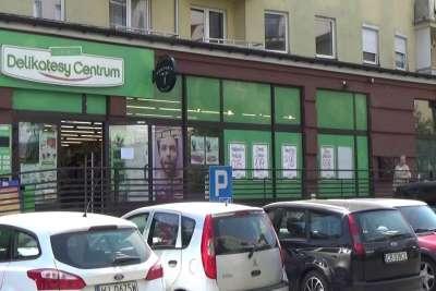 Продуктовый супермаркет Delikatesy в Кракове