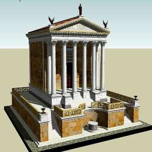 Реконструкция Храма Цезаря