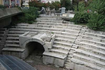 Руины Римского стадиона