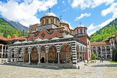 Церковь Богородицы Рыльского монастыря