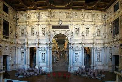 Teatro Olimpico внутри