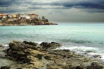 Берег моря возле Созополя