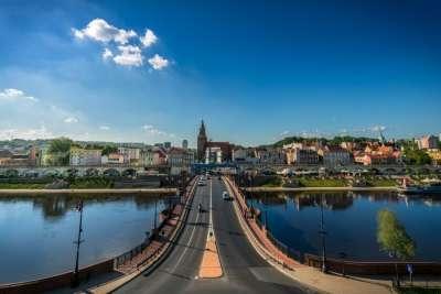 Гожув Великопольский. Панорама города