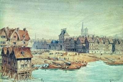 Площадь в 15 веке