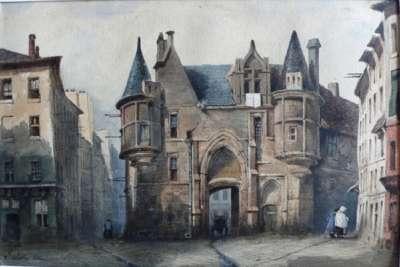 Дворец на картине 19 века