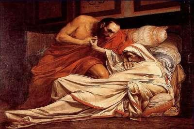 """Картина """"Смерть Тиберия"""""""