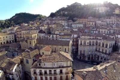 Козенца. Старый город