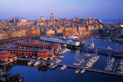 Новый порт Генуи